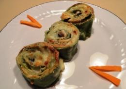 Pasta fresca zucchine e salmone