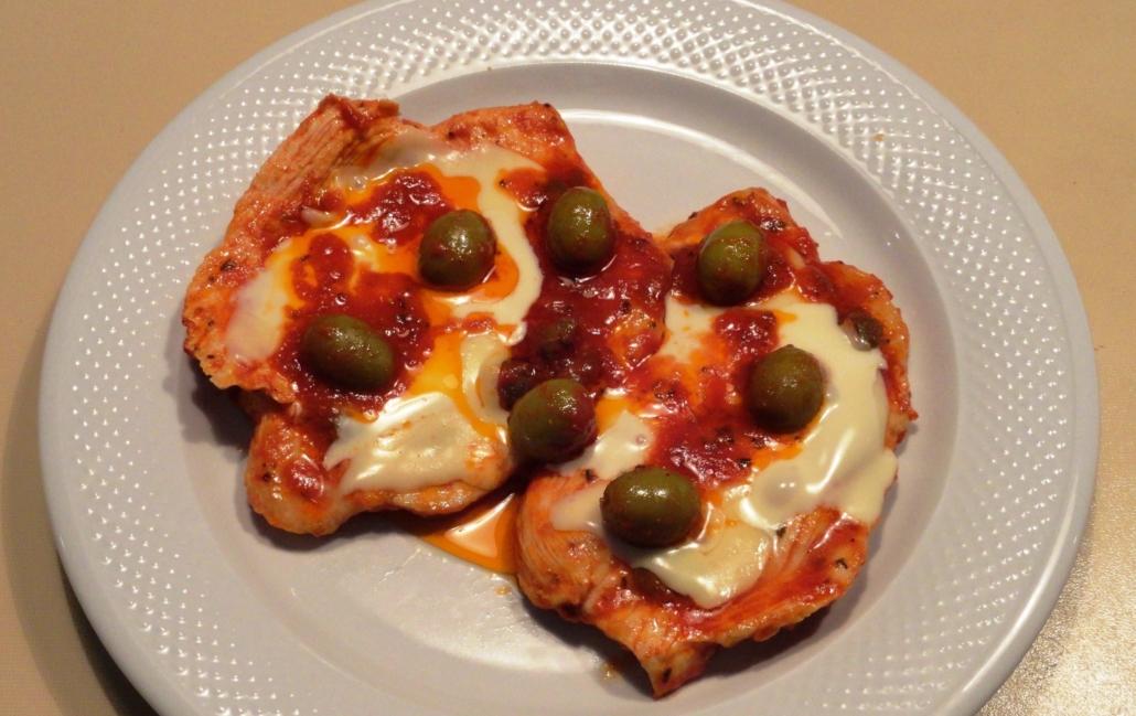 Petto di pollo alla pizzaiola