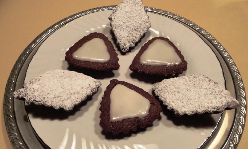pasticcini cacao e pere